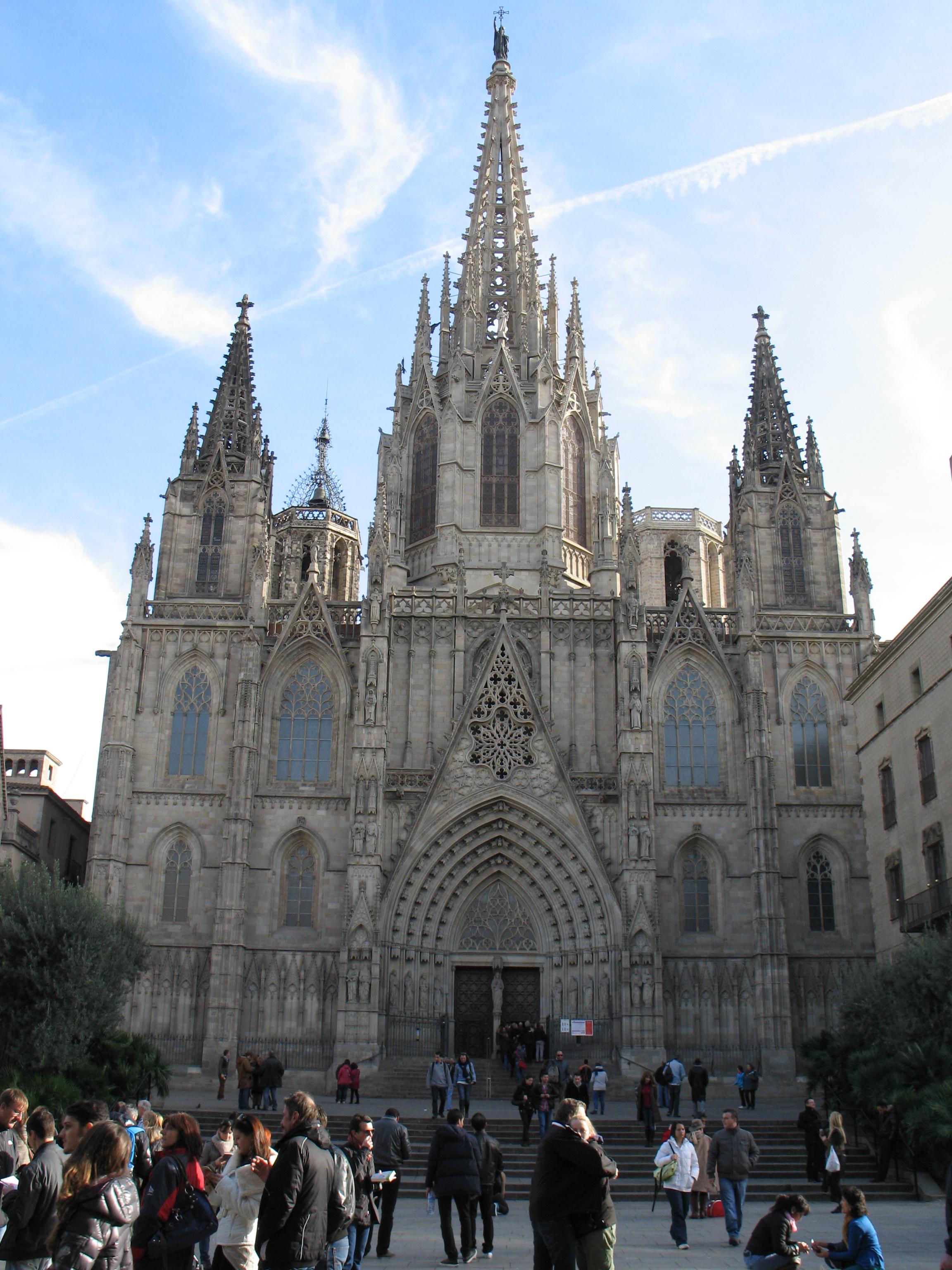 Barcellona cattedrale di sant eulalia fotografando in for Spagna barcellona